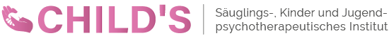CHILD'S | Eingang der Praxis | Logo Design - Schriftzug